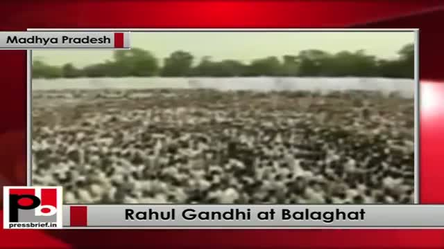 Rahul Gandhi at Balaghat in Madhya Pradesh: Empower people to tackle corruption