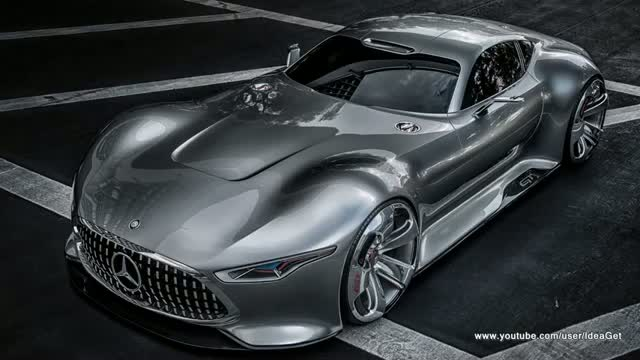 Concept Revealed 2013 Mercedes Benz Vision Gran Turismo