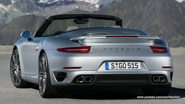 2014 Porsche 911 Turbo Cabriolet Interior and Exterior Design
