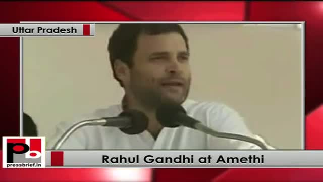 Rahul Gandhi flags off new trains, lays foundation stone of new railway line in Amethi