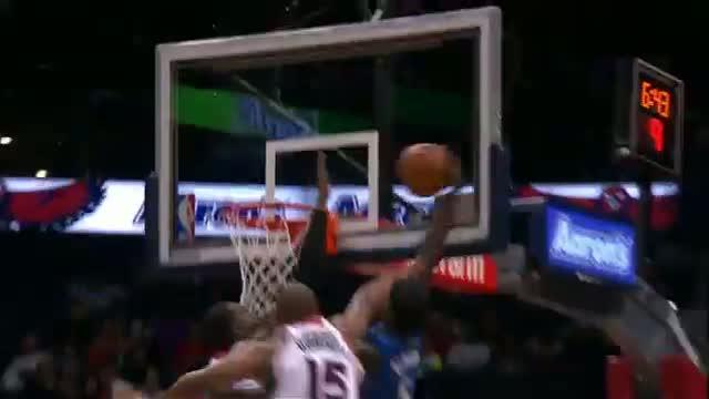 NBA: Victor Oladipo's MAJOR Facial on Millsap and Horford