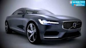 2013 Frankfurt Motor Show: Volvo shows off Concept Coupe; new four-cylinder powertrains