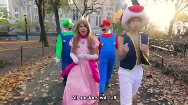 Super Mario 3D World - THE MUSICAL feat. Princess Peach