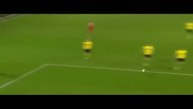 Borussia Dortmund Vs Bayern Munich 0-3 - Mario Gotze Goal - November 23 2013 - [High Quality]