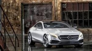 2013 Frankfurt Motor Show: Mercedes Benz S-Class Coupe Concept revealed