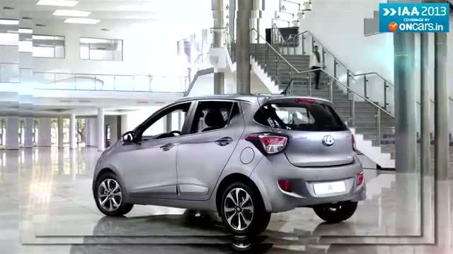 2013 Frankfurt Motor Show: Hyundai showcases new i10
