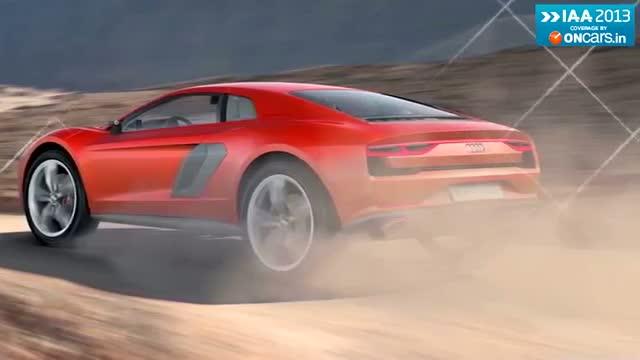 2013 Frankfurt Motor Show: Audi astonishes with Nanuk Quattro Concept