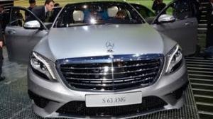 2013 Frankfurt Motor Show: Latest-gen Mercedes Benz S63 AMG makes its world debut