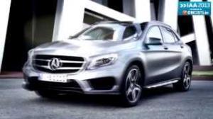 2013 Frankfurt Motor Show: Mercedes' stunning looking GLA has Audi Q3 in its sight