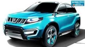 2013 Frankfurt Motor Show: Suzuki iV-4 concept previews upcoming SUV