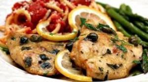 DELICIOUS Chicken Piccata Recipe - Juicy Chicken Breasts in Lemon Caper Piccata Sauce