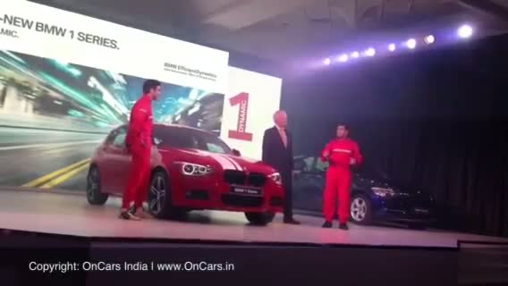 LIVE: Sachin Tendulkar unveils the 2013 BMW 1-Series in India