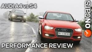 2013 Audi A4 vs S4 (B8, facelift) - Performance Review by OnCars India