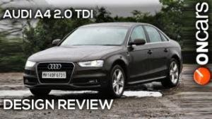 2013 Audi A4 2.0 TDI (B8, facelift) - Design Review by OnCars India