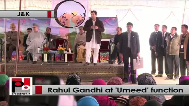 Rahul Gandhi at UMEED function: Women must be empowered and connected with banks