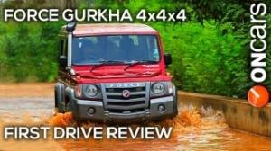 Force Gurkha 4x4x4 First Drive Review India