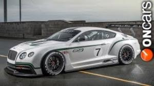 Bentley Continental GT3 officially unveiled