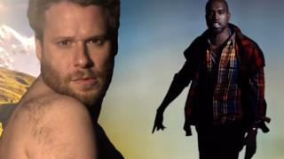 """Bound 4"" Featuring Kanye West And Seth Rogen"