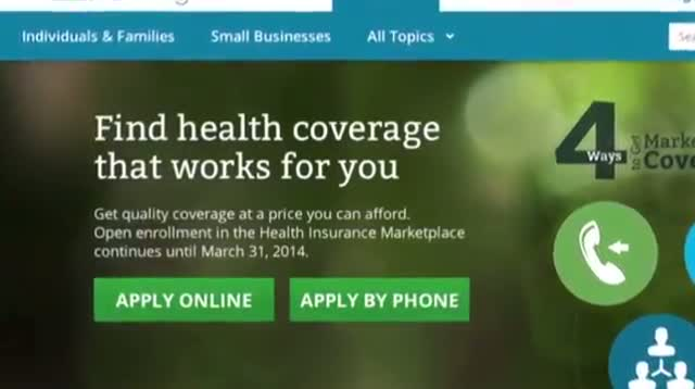 Gov't Says HealthCare.gov on the Mend