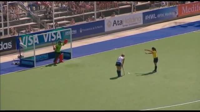 ENGLAND vs KOREA - Women's Hockey World League Final Argentina Groups [30/11/13]