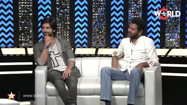 In Conversation With Shahid Kapoor, Prabhu Dheva & Sonakshi Sinha