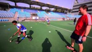 Hero and FIH Hockey Clinic in Delhi, India
