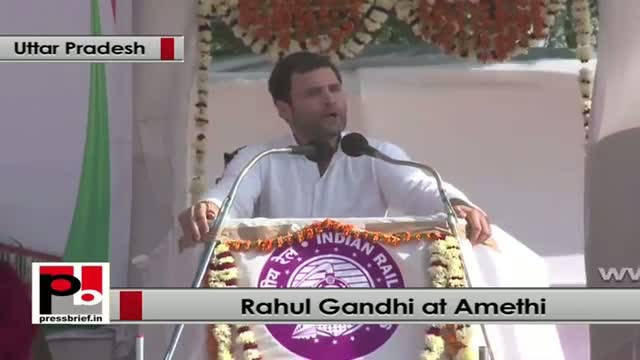 Rahul Gandhi: Our schemes are for poor and downtrodden