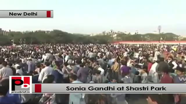 Sonia Gandhi: Opposition always tries to damage the image of Congress party
