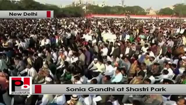 Sonia Gandhi: Sheila Dixit govt has changed the face of Delhi