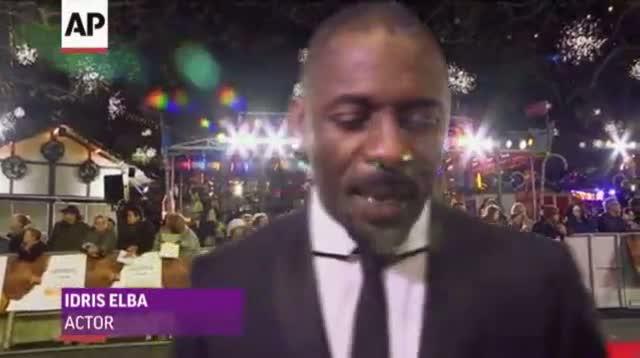 Royals at 'Mandela' Premiere Before His Death