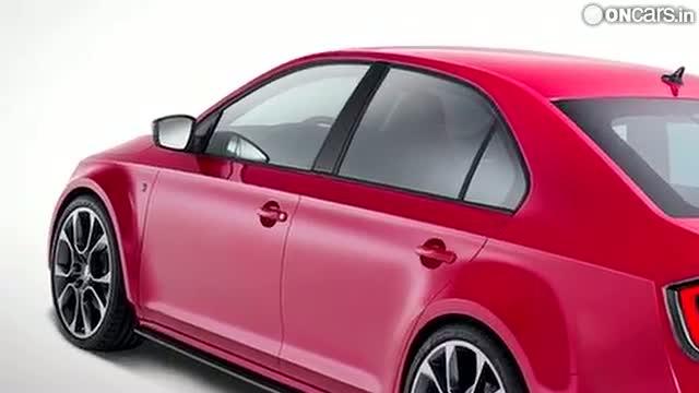 Skoda shows off more of Rapid Sport Concept