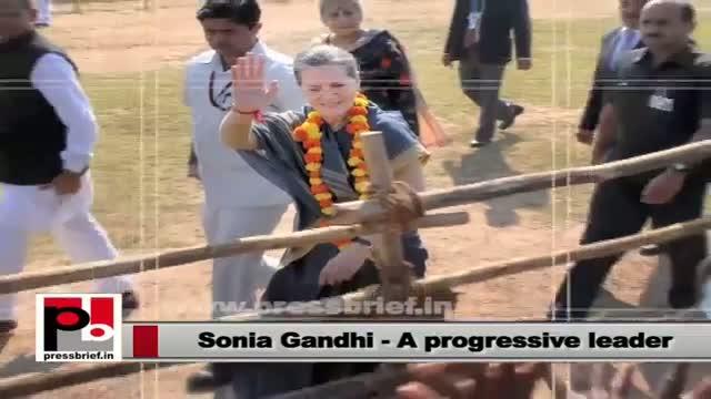 Sonia Gandhi: Self-less dedication towards nation