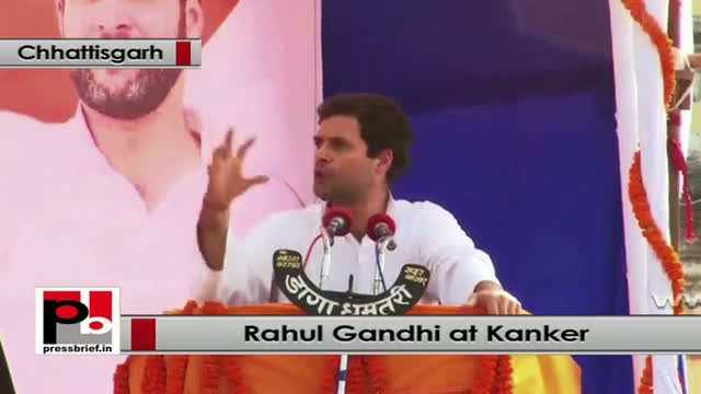 Rahul Gandhi: We have fought for tribals' right and we won