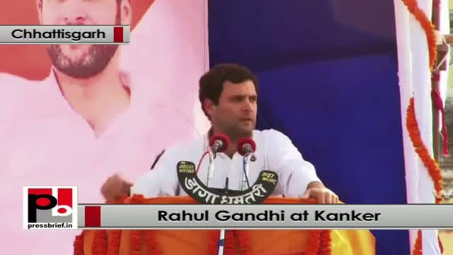 Rahul Gandhi: Congress is committed for common man, youth, tribal, women and poor