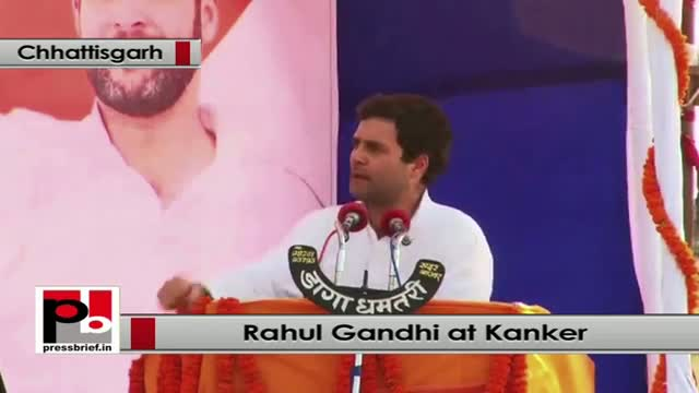 Rahul Gandhi: We have implanted the policy of fixing MSP for forest crops also