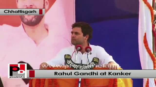 Rahul Gandhi: We want to empower the tribal youth by providing them employment
