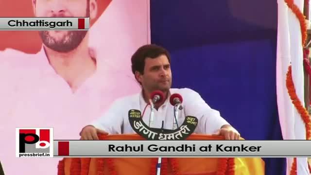 Rahul Gandhi: There is no shine in Chhattisgarh as BJP claims