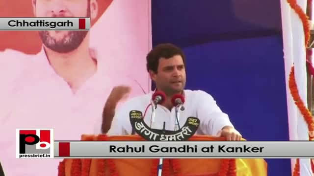 Rahul Gandhi: We want new tribal youth come forward and lead