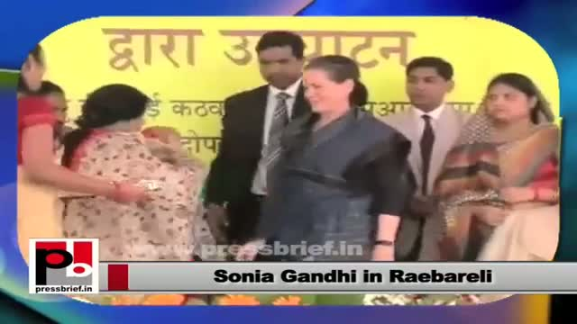 "Sonia Gandhi: ""Empowerment of women is necessary"""