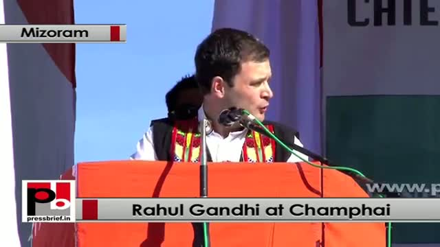 Rahul Gandhi: Mizoram has shown how to overcome violence with peace