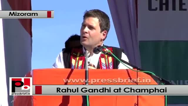 Rahul Gandhi: UPA government given the status of Central University to Mizoram University