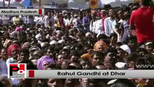 Rahul Gandhi: Roads don't provide food to poor, but our schemes do