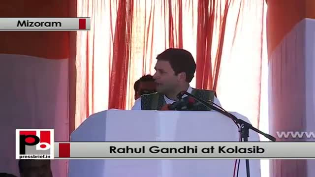 Rahul Gandhi: We are doing sufficient efforts for education enhancement in Mizoram