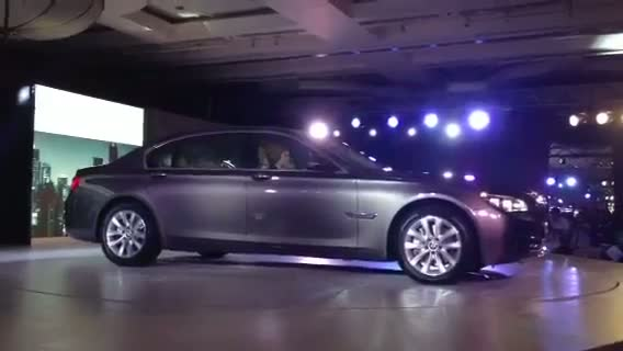 2013 BMW 7-series unveiled in India