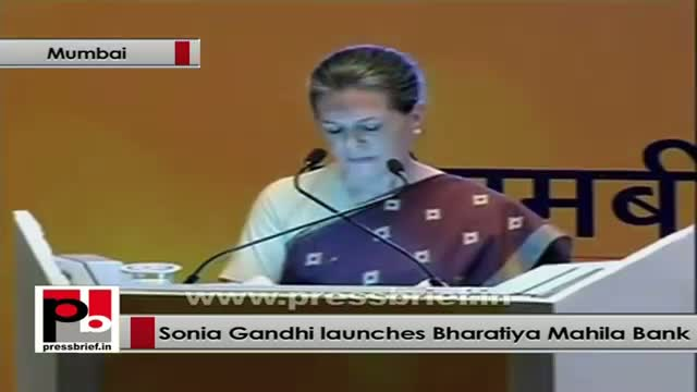 Sonia Gandhi: Women joining SHG rapidly in all over the country