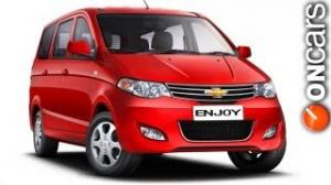 Enjoy MPV goes Online on Chevrolet India's website