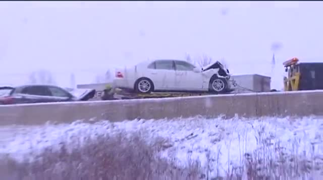 Storm Causes Dozens of Crashes in Wisconsin