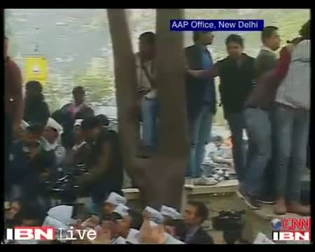 High on election results, AAP supporters celebrate 'dream' debut
