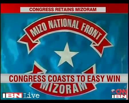 Congress retains power in Mizoram