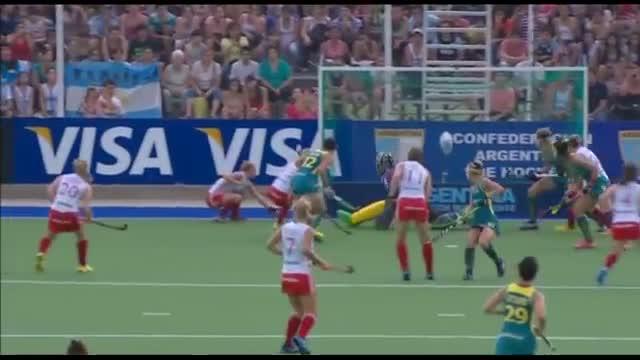 England vs Australia - Women's Hockey World League Final Argentina Semi Final 2 [07/12/2013]